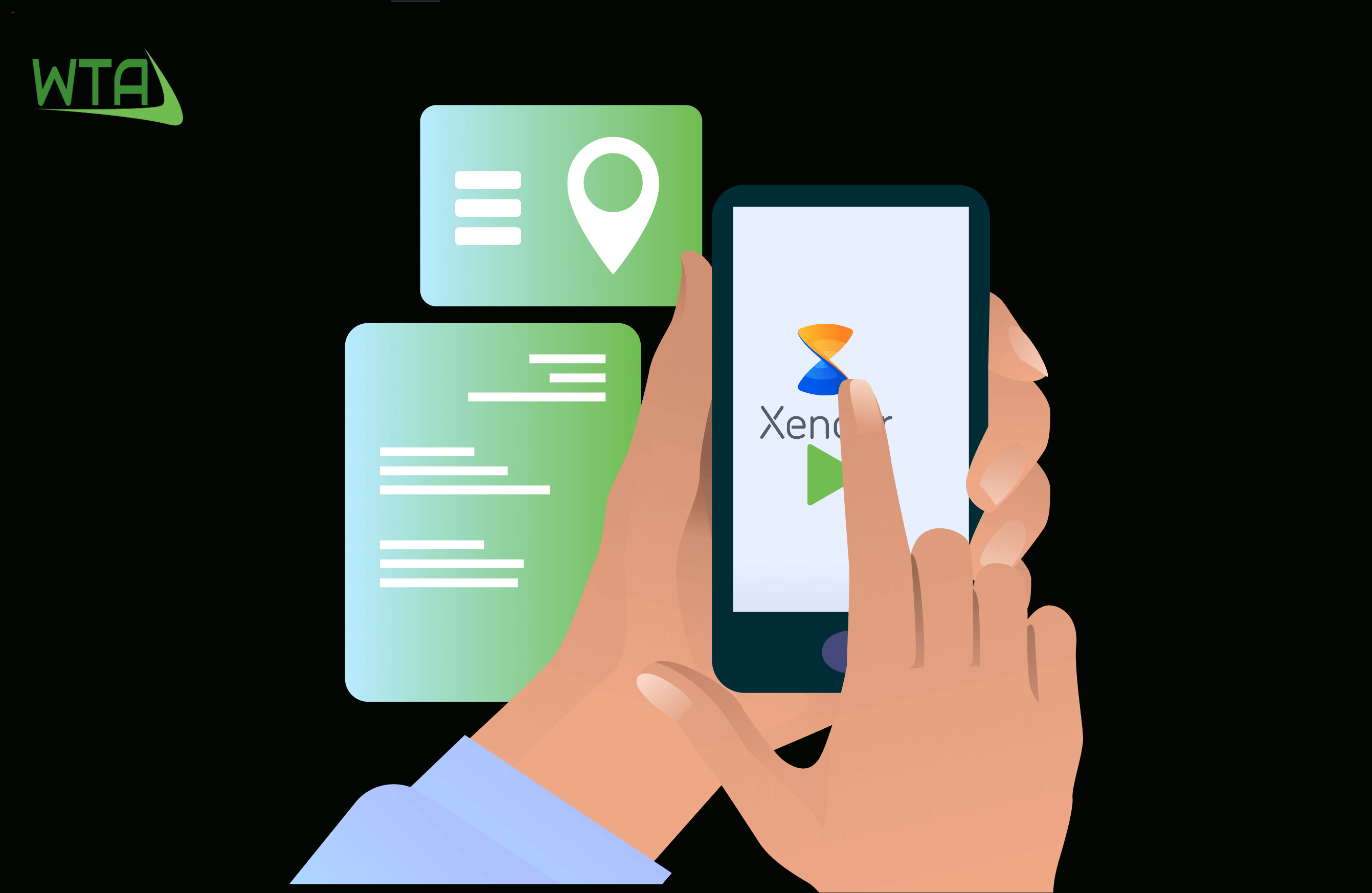 xender app to save social media video