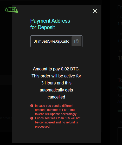 how to buy ekart inu coin