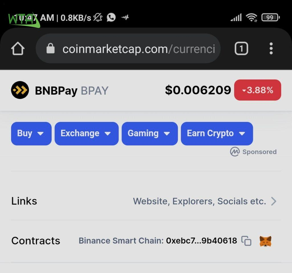 How to Buy BNBPay coin