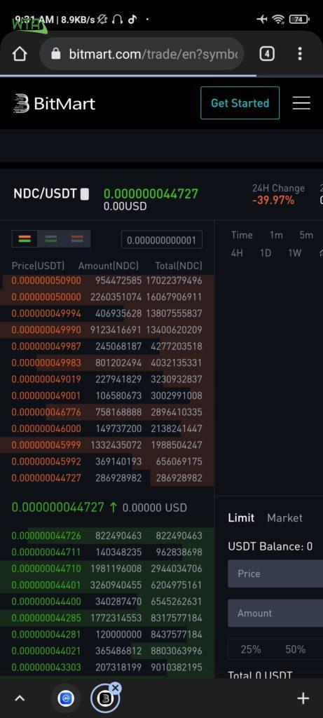 How to buy Nano DogeCoin