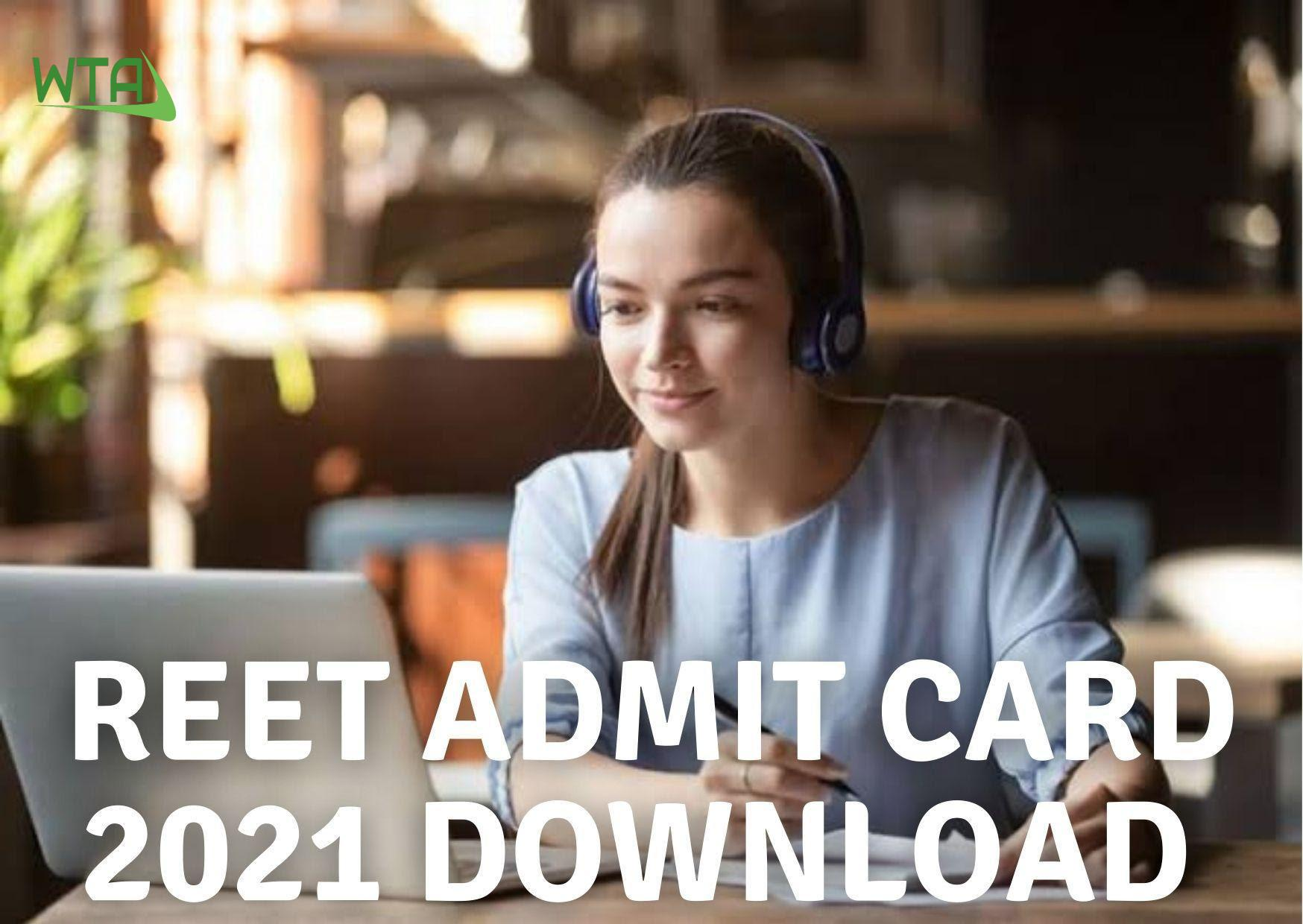 Reet admit card 2021 download